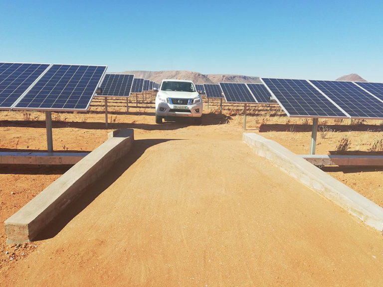 Renewable Energy project for KJV | Silo n Sons (PTY) Ltd
