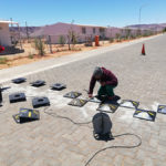 Speed bumps installation for Vedanta BMM | Silo n Sons General Services (PTY) Ltd